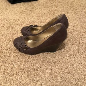 Cato Shoes - Brown wedges